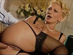 F60 Big Boobs Mature Gets Anal