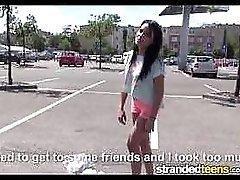 Strandedteens Hot euro teen is a very bad girl