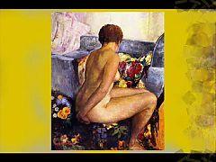 Henry Lebasqur Erotic Paintings