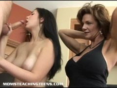 Hot Teen Cherry Gets A Rough Lesson From A Bust MILF