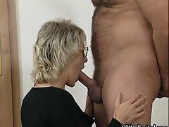 Nasty mature sluts go crazy sucking cocks and getting f