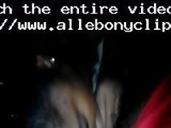 Blow job from wifey black ebony cumshots ebony swallow