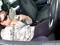 Danica Collins Donna Ambrose Parked Up Being Naughty