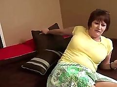 Mature granny in lingerie pussy pounded in high def
