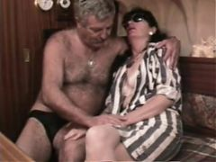 Young russian boy fucking mature woman