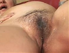 Old bitch gets her hairy snatch plowed